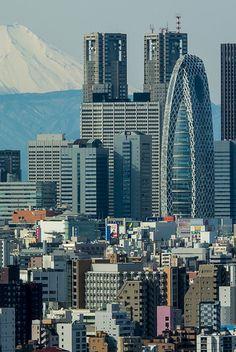 Shinjuku skyscrapers #japan #tokyo