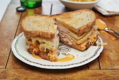 The classic reuben gets a twist by swapping in turkey for corned beef. Make this diner staple—sometimes called The Rachel—at home with just a few ready-to-eat ingredients. All you need is a little bit of heat.