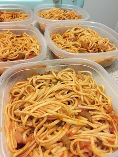 Hour and a half meal prep! 5x spaghetti and 5x chicken roasted asparagus and sweet potatoes #mealprepping #OneSimpleChange #mealprep #healthy #mealplanning #healthyliving #food #weightloss #sunday
