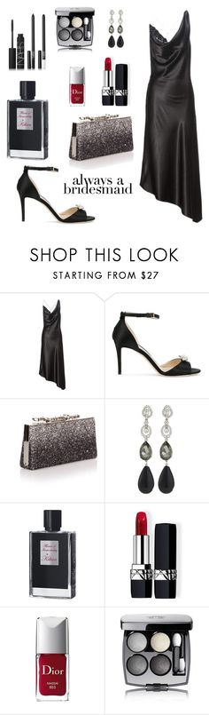 """Untitled #645"" by elizabeth-buttery ❤ liked on Polyvore featuring Altuzarra, Jimmy Choo, Oscar de la Renta, Kilian, Christian Dior, Chanel and NARS Cosmetics"