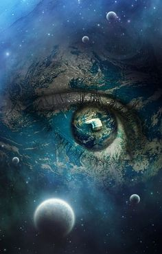 Even though each spiritual awakening is specific to the individual having it. A spiritual awakening is so much more than an individual experience. Awakening Our Truth Eye Art, Spiritual Awakening, Beautiful Eyes, Beautiful Space, Beautiful Pictures, Belle Photo, Mother Earth, Mother Nature, Fantasy Art