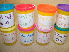 First Grader...at Last!: Counting Cups