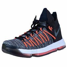huge selection of 2f87d cf2b2 Nike Nike Zoom Elite mens basketball-shoes - Black White-Dark Grey-Hyper  Orange, Size  D(M) US, Black White-Dark Grey