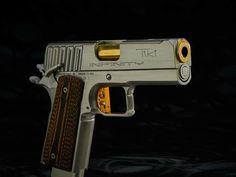 Infinity Firearms 1911 Tiki, Titanium, Trench Sights, Ported Barrel