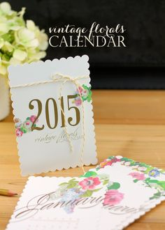 It's no secret that I love calendars. Strike that. I love making calendars. I've been doing it for years on the blog and there is no reason to stop the tradition now! Take a look HERE to see all the pretty calendars from the Damask Love archives. During one of my late night Pinterest sessions, …