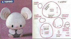 Barbaridade: Miniaturas em feltro