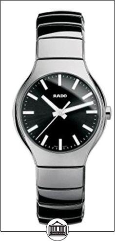 Rado True plata-tono Cerámica Unisex Reloj r27656162  ✿ Relojes para mujer - (Lujo) ✿