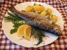 Pstruh s citronem a bylinkami Eggs, Breakfast, Fitness, Lemon, Morning Coffee, Egg, Egg As Food