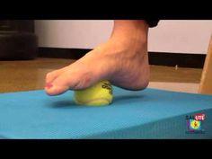 Riabilitazione Propriocettiva arti inferiori esercizi - YouTube
