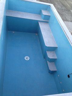Australian Plunge Pool custom interior