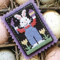 free counted cross stitch/needlepoint pattern The Prairie Schooler