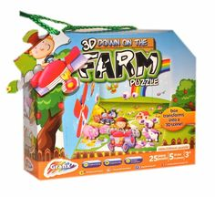 Grafix Puzzle 3D Farm with 3D effect and play scene via Alders of Faversham. Click on the image to see more!