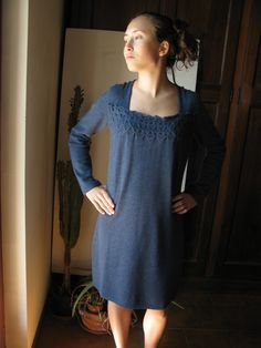 Check out the deal on Embroidered Cashmere Baby- Doll Dress at Eco First Art
