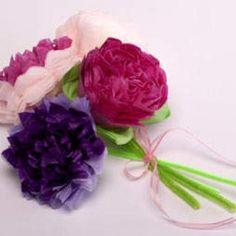 DIY Tutorial: DIY Origami / DIY Tissue paper flowers - Bead&Cord