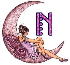 Alfabeto de hadas en la luna. - Oh my Alfabetos! Letter T, Blogger Templates, Creations, My Love, Images, Board, Beauty, Alphabet, Beetle Car