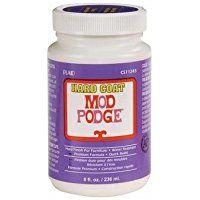 Mod Podge Hard Coat for Furniature (8-Ounce), CS11245