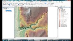 Using hydrology tools in ArcMap