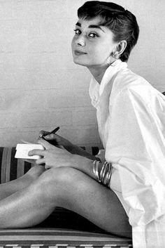 Vintage tom(girl) style: Audrey Hepburn