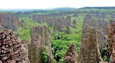 Cidade de pedra próxima a Rondonópolis-Mt    Foto :João Basso