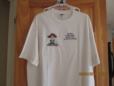Humorous tee shirtEX largefor the funny by platopooch on Etsy, $15.00