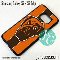 Cleveland Browns Phone Case for Samsung Galaxy S7 & S7 Edge
