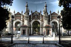 Almudena cemetery entrance. Madrid. Entrada al Cementerio de la Almudena by J. A. Alcaide, via Flickr