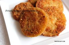 Southern Food - Fried Green Tomatoes