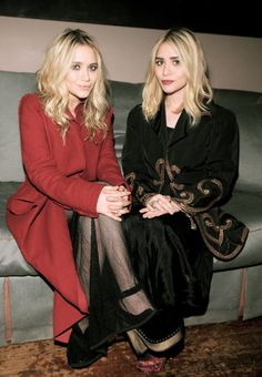 olsen twins autumn style Mandatory Credit: Photo by Sipa Press / Rex Features ( 1107749b ) Mary-Kate Olsen, Ashley Olsen Mary-Kate & Ashley Olsen's Olsenboye launch at JCPenney, Norwood, New York, America - 03 Feb 2010