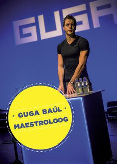 Guga Ba?l: Maestroloog - In his first full-length show, master celebrity impersonator Guga Ba?l transports a live audience to another world with his uncanny impressions.