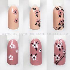 Make an original manicure for Valentine's Day - My Nails Nail Art Hacks, Nail Art Diy, Easy Nail Art, Diy Nails, Manicure, Nail Art Designs Videos, Nail Art Videos, Nail Designs, Nail Drawing
