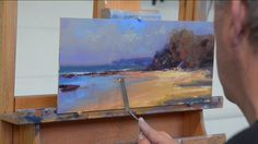 John Bredl doing a demo of a Ken Knight painting. Good tips!!