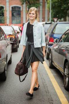 c3398ae59d0 Πώς ντύνονται τα μοντέλα;   μοδα , street style   ELLE Anna Ewers, Street