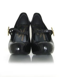 Vivienne Westwood Vegan Croco Mary Jane Shoes