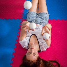 Ball juggling and mermaid hair Mermaid Hair, Beauty, Beleza, Cosmetology
