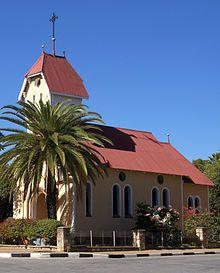 Tsumeb – Wikipedia Katholische St Barbara Kirche in Tsumeb Namibia