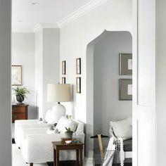 Benjamin Moore Gray Owl OC -52 esign Ideas, Pictures, Remodel and Decor