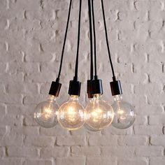 Industrial Bulb Pendant by West Elm