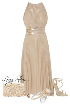 """""""7/23/17"""" by longstem on Polyvore featuring Maria Lucia Hohan, Carvela Kurt Geiger, Forever New and Ross-Simons"""