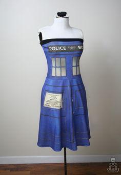 DR WHO Tardis  dress $149.00