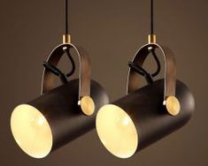 Nastaviteľná retro visiaca lampa v post modernom štýle, retro lampy (1) Track Lighting, Ale, Ceiling Lights, Retro, Vintage, Home Decor, Decoration Home, Room Decor, Ale Beer