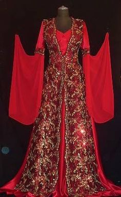beautiful turkish ottoman style henna dress