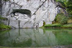 15. Monumento al león de Lucerna, Suiza