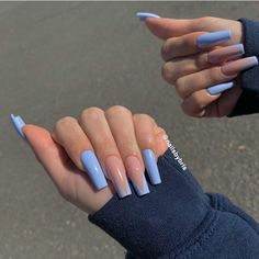 25 Elegant Nail Designs to Inspire Your Next Mani French Tip Acrylic Nails, Bling Acrylic Nails, Acrylic Nails Coffin Short, Square Acrylic Nails, Coffin Shape Nails, Best Acrylic Nails, Long French Tip Nails, French Toe Nails, French Tip Pedicure