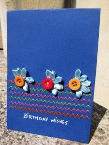 Happy Birthday - homemade forever cards via happybirthdaywishes.co.in