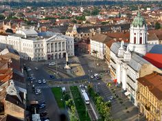 Wonderful view of Arad theater Romania, Paris Skyline, Mansions, House Styles, Gallery, Places, Travel, Image, Theater