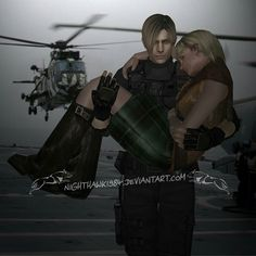 Precious Cargo by NightysWolf on DeviantArt Resident Evil, I Love You Words, Leon S Kennedy, Cool Photoshop, Work Friends, Enjoy Your Vacation, Amazing Pics, Big Family, How To Better Yourself