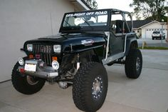 love this jeep YJ