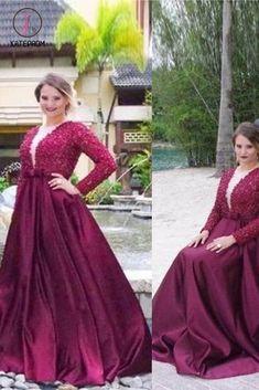 A LinePrincess Bateau Lace Asymmetrical Satin Plus Size Dresses