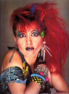 The crazy collorful 1980s: Cindy Lauper