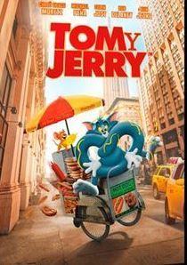 """Jerry se muda al mejor hotel de Nueva York en vísperas de """"la boda del siglo"""", obligando a la organizadora del evento a contratar a Tom para deshacerse de él. Tom And Jerry Dvd, Hot Dogs, Tim Story, Rob Delaney, William Hanna, Ken Jeong, Bobby Cannavale, Toms, New York City"""